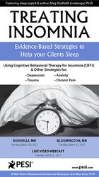 Treating Insomnia: Evidence-Based Strategies to Help Your Clients Sleep