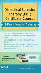 2-Day: Dialectical Behavior Therapy (DBT) Certificate Course; 2-Day Intensive Training