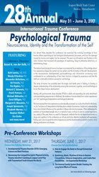 4-Day: 28th Annual International Trauma Conference: Psychological Trauma: Neuroscience, Identity and the Transformation of the Self
