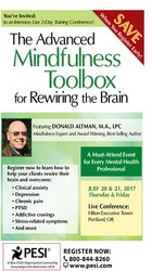 The Advanced Mindfulness Toolbox for Rewiring the Brain: Intensive 2-Day Mindfulness Training for Anxiety, Depression, Pain, PTSD, and Stress-Related Symptoms