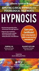 Hypnosis 2-Day Intensive Certificate Workshop: Applying Clinical Hypnosis with Psychological Treatments