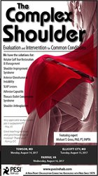 The Complex Shoulder: Evaluation and Intervention for Common Conditions