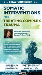 2-Day: Somatic Interventions for Treating Complex Trauma with Janina Fisher, PhD
