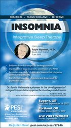 Insomnia: Integrative Sleep Therapy
