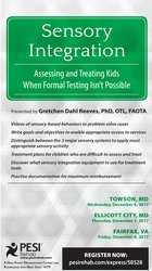 Sensory Integration: Assessing and Treating Kids When Formal Testing Isn't Possible