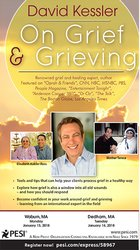 David Kessler On Grief and Grieving