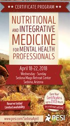 5-Day Retreat: Nutritional and Integrative Medicine Certificate for Mental Health Professionals