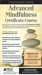 3-Day Intensive Training: Advanced Mindfulness Certificate Course