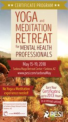 5-Day Certificate Program: Yoga and Meditation Retreat for Mental Health Professionals