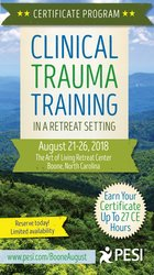 6-Day: Certificate Program: Clinical Trauma Training in a Retreat Setting