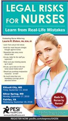Legal Risks for Nurses: Learn from Real-Life Mistakes