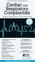 Cardiac and Respiratory Complexities: Quickly Differentiate to Take Rapid Action