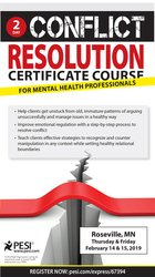 2-Day Conflict Resolution Certificate Course for Mental Health Professionals