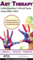 Art Therapy: Creative Interventions for Kids with Trauma, Anxiety, ADHD and More!