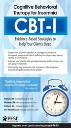 Cognitive Behavioral Therapy for Insomnia (CBT-I): Evidence-Based Strategies to Help Your Clients Sleep