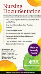 Nursing Documentation: Proven Strategies to Keep Your Patients and Your License Safe