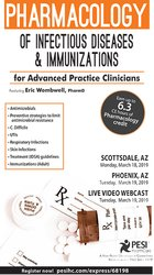 Pharmacology of Infectious Diseases & Immunizations for Advanced Practice Clinicians