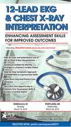 12-Lead EKG & Chest X-Ray Interpretation: Enhancing Assessment Skills for Improved Outcomes