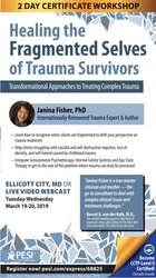 2-Day Certificate Workshop Healing the Fragmented Selves of Trauma Survivors: Transformational Approaches to Treating Complex Trauma