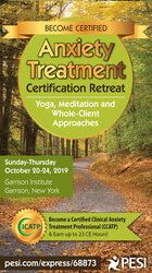 5-Day: Anxiety Treatment Certification Retreat: Yoga, Meditation and Whole-Client Approaches