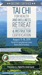 Tai Chi for Health and Wellness Retreat & Instructor Certification