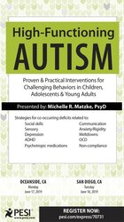 High-Functioning Autism: Proven & Practical Interventions for Challenging Behaviors in Children, Adolescents & Young Adults