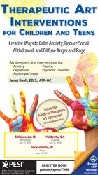 Therapeutic Art Interventions for Children and Teens: Creative Ways to Calm Anxiety, Reduce Social Withdrawal, & Diffuse Anger and Rage