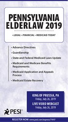 Pennsylvania Elder Law - 2019