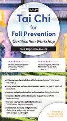 3-Day: Tai Chi for Fall Prevention: Certification Workshop