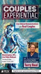 2-Day: Couples Experiential: Live Clinical Demonstrations with Real Couples featuring Terry Real