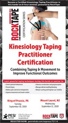 Kinesiology Taping Practitioner Certification: Combining Taping & Movement to Improve Functional Outcomes