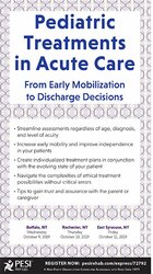 Pediatric Treatment in Acute Care: From Early Mobilization to Discharge Decisions