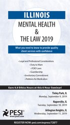 Illinois Mental Health & The Law - 2019