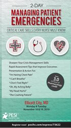 2-Day Managing Patient Emergencies: Critical Care Skills Every Nurse Must Know