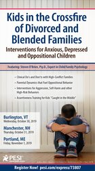 Kids in the Crossfire of Divorced and Blended Families: Interventions for Anxious, Depressed and Oppositional Children