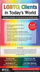 LGBTQ Clients in Today's World: Treatment Strategies for Gender & Sexual Identity Issues