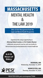 Massachusetts Mental Health & The Law - 2019