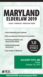 Maryland Elder Law - 2019
