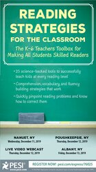 Reading Strategies for the Classroom: The K-6 Teachers Toolbox for Making All Students Skilled Readers