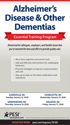 Alzheimer's Disease & Other Dementias Essential Training Program