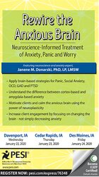 Rewire the Anxious Brain: Neuroscience-Informed Treatment of Anxiety, Panic and Worry