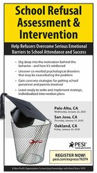 School Refusal Assessment & Intervention: Help Refusers Overcome Serious Emotional Barriers to School Attendance & Success