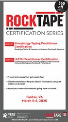2-Day: Kinesiology Taping Practitioner Certification AND IASTM Practitioner Certification