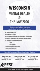 Wisconsin Mental Health & The Law - 2020