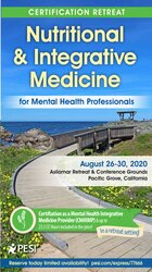 5-Day Certification Retreat: Nutritional and Integrative Medicine for Mental Health Professionals