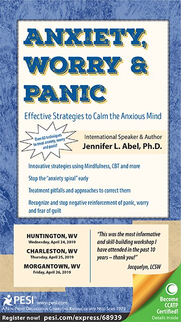 Anxiety, Worry & Panic: Effective Strategies to Calm the Anxious Mind