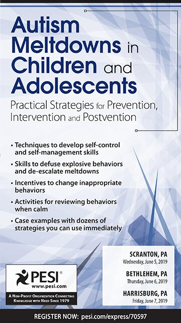 Autism Meltdowns in Children and Adolescents: Practical Strategies for Prevention, Intervention and Postvention
