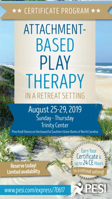 5-Day Certificate Program: Attachment-Based Play Therapy in a Retreat Setting