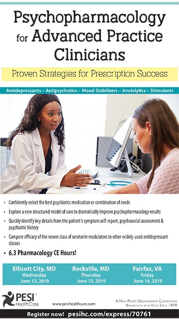 Psychopharmacology for Advanced Practice Clinicians: Proven Strategies for Prescription Success