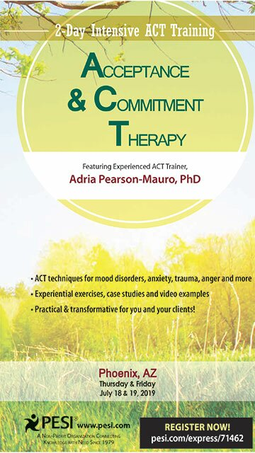 Acceptance and Commitment Therapy: 2-Day Intensive ACT Training